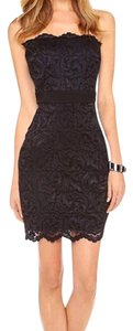 Velvet by Graham & Spencer Lace Strapless Party Chic Dress