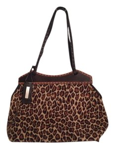 Antonio Melani Satchel in Brown Tan Beige