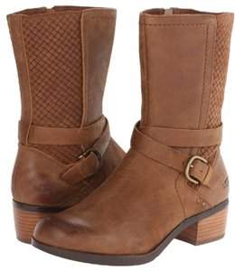 UGG Australia Leather Equestrian Suede Chesnut Boots