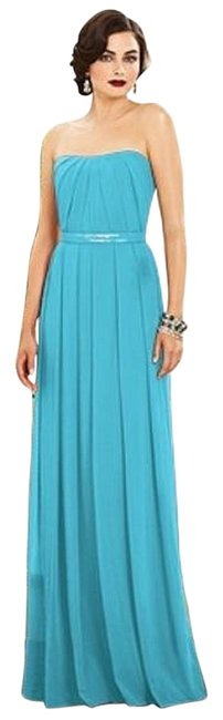 Preload https://img-static.tradesy.com/item/11334082/dessy-turquoise-blue-2886-long-formal-dress-size-12-l-0-1-650-650.jpg