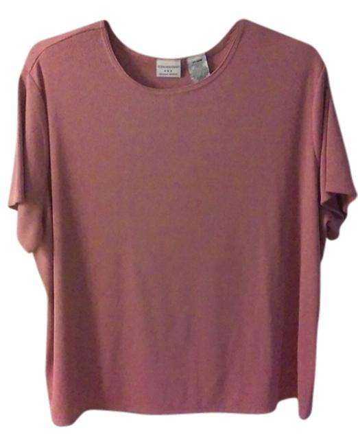 Preload https://img-static.tradesy.com/item/11334577/covington-dusty-rose-woman-blouse-size-24-plus-2x-0-1-650-650.jpg