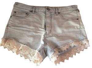 Free People Mini/Short Shorts Blue