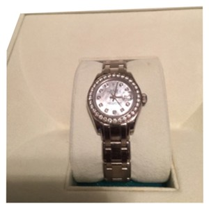 Rolex Oyster Perpetual Lady-Datejust Pearlmaster Rolex 18kt. White Gold. Style#R8029999UB7294