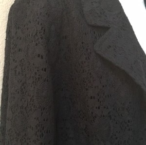 Chico's Chicos 3 Size 3 Plus 12 14 16 Black Blazer
