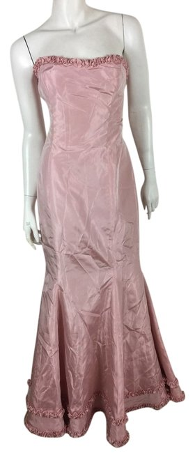 Item - Pink Gown Cocktail Long Formal Dress Size 12 (L)