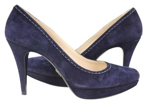 Prada Navy Blue Pumps