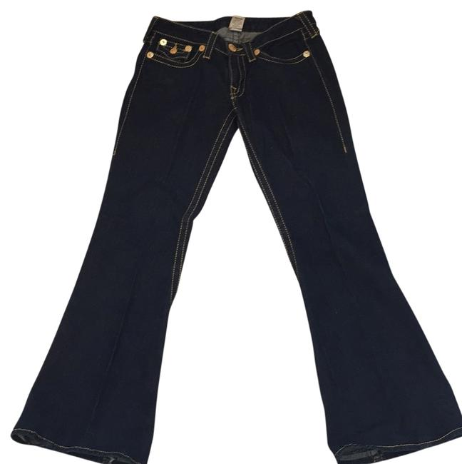 Preload https://img-static.tradesy.com/item/11337043/true-religion-dark-blue-flare-leg-jeans-size-31-6-m-0-1-650-650.jpg