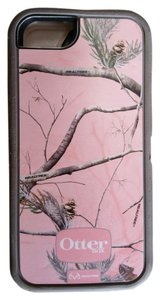 OtterBox Otterbox Defender Realtree pink gray iphone 5 case 5S