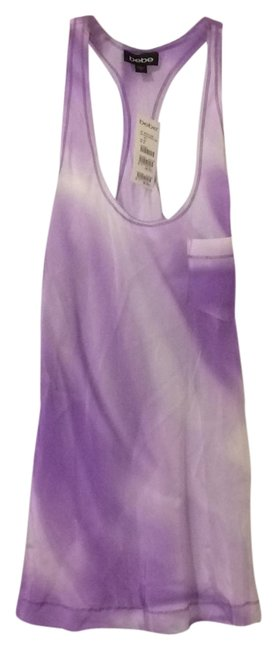 bebe Lilac and Purple Tank Top/Cami Size 8 (M) bebe Lilac and Purple Tank Top/Cami Size 8 (M) Image 1