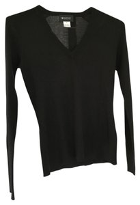 Barneys New York V-neck Silk Cashmere Sweater