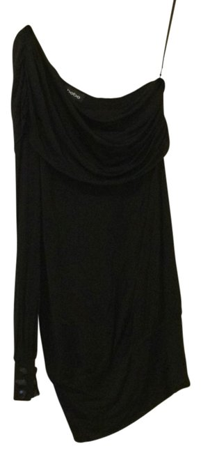 bebe Blac Above Knee Night Out Dress Size 8 (M) bebe Blac Above Knee Night Out Dress Size 8 (M) Image 1