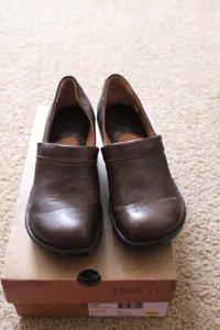 Børn Toby Leather Leather Brown Mules
