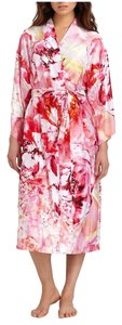 Multi Pink Maxi Dress by Natori Color Floral Print