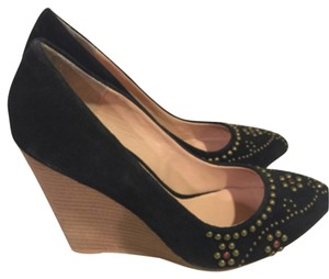 Betsey Johnson Blk Wedges