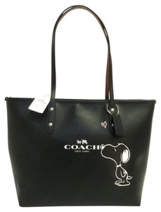 Coach Limited Edition Tote in Black, Silver