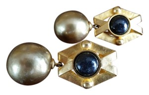 Karl Lagerfeld Karl Lagerfeld vintage clip earrings