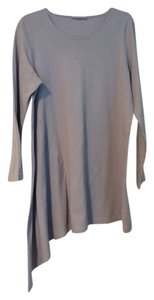 Bryn Walker Scoop Neck 100% Cotton Tunic Sway A Symmetrical Top Lilac