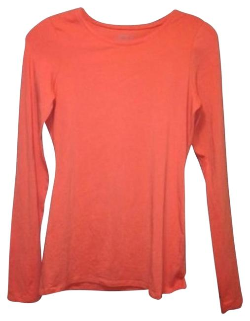 Preload https://img-static.tradesy.com/item/113387/old-navy-bright-orange-long-sleeve-with-stretch-tee-shirt-size-2-xs-0-1-650-650.jpg