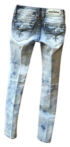 Rock Revival Straight Leg Jeans-Light Wash