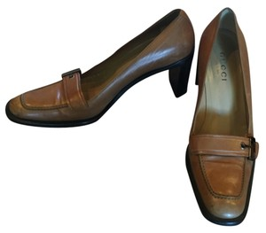 Gucci Heels Loafers Tan Pumps