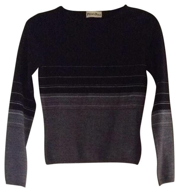Preload https://item3.tradesy.com/images/black-and-gray-made-in-italy-sweaterpullover-size-6-s-1133932-0-0.jpg?width=400&height=650