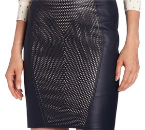 Elie Tahari Designer Mini Skirt Midnight Dream