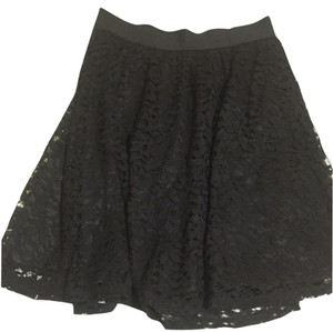 LC Lauren Conrad Mini Skirt Blac