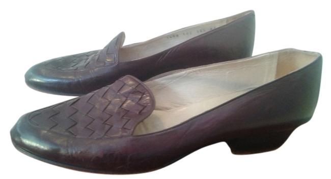 Item - Brown Woven Leather Small Heel Flats Size US 6.5 Narrow (Aa, N)