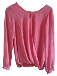 Forever 21 Chiffon Top Coral