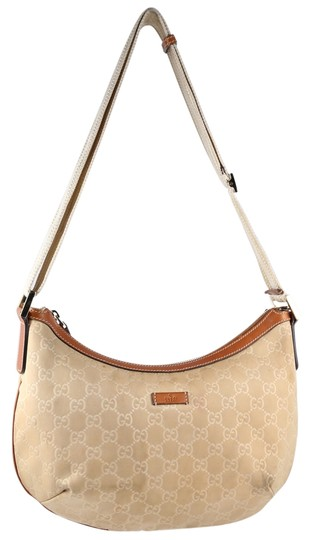 Preload https://img-static.tradesy.com/item/11341096/gucci-gg-signature-embossed-beige-nylon-hobo-bag-0-1-540-540.jpg