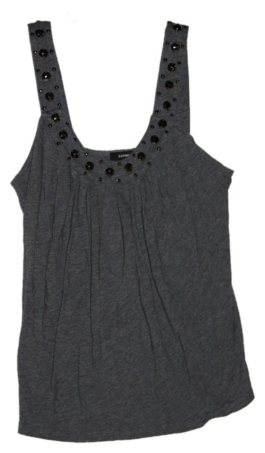 Preload https://item4.tradesy.com/images/express-gray-studded-tank-topcami-size-4-s-1134113-0-0.jpg?width=400&height=650