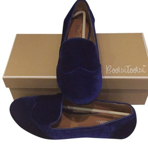 Bootsi Tootsi Loafer Flat Blue Smoking Flat Blue, Sapphire. Flats