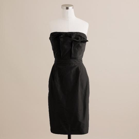 Preload https://img-static.tradesy.com/item/1134121/jcrew-black-silk-taffeta-mika-modern-bridesmaidmob-dress-size-4-s-0-1-540-540.jpg