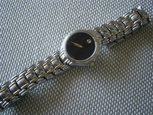 Movado Movado Museum Two Tone Gold plated Ladies Watch