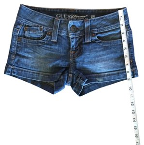 Guess Jean Denim Mini/Short Shorts Blue