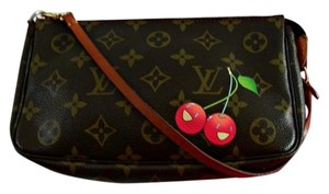 Louis Vuitton Cerises Cherry Pochette Shoulder Bag