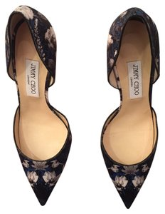 Sold Jimmy Choo Sold Mixed - Navy/black/white Pumps