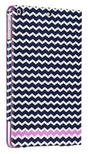 Case-Mate Case-Mate Blue Chevron SLIM Folio Case with Stand for iPad Air