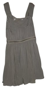 Mustard Seed short dress Light Gray on Tradesy