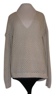 Theory Open Weave Pullover Sweater