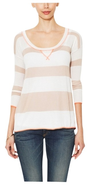 Splendid Striped Knit Hi Lo Sweater