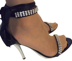 Shiekh Black Metalic Platforms