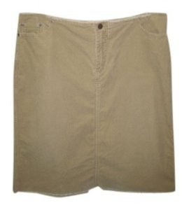 Venezia by Lane Bryant Skirt tan