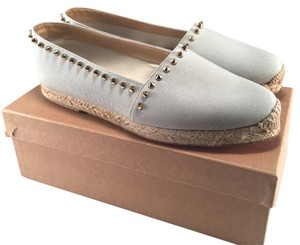 35953de0dad Blue Christian Louboutin Flats Up to 90% off at Tradesy