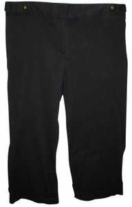 Ashley Stewart Capris black