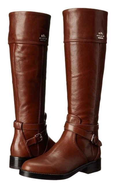 Coach Brown Traditional Equestrian Details Boots/Booties Size US 11 Regular (M, B) Coach Brown Traditional Equestrian Details Boots/Booties Size US 11 Regular (M, B) Image 1