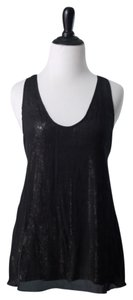 Joie Top Black Silver