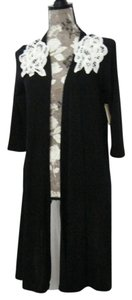 Allison Brittney Sweater Sleeve Dark Cardigan