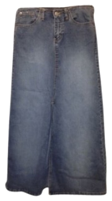 Angels Jeans Maxi Skirt denim
