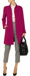 Vanessa Bruno Wool 3/4 Length Fitted Retro Coat